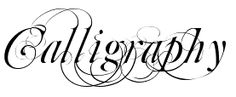 Free Calligraphy Fonts Downloads galore! Plus supplies and different language alphabets... Nice site...
