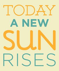Take a look at this 'A New Sun' Wall Sign by Addie & Clover on #zulily today!