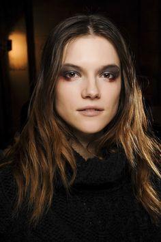 Eerie Beauty: Autumn/Winter 2013 Makeup & Beauty Trend (Vogue.com UK)