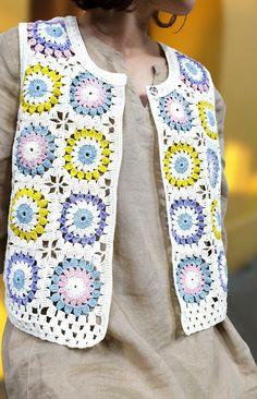 Crochet Vest Pattern, Knit Crochet, Crochet Patterns, Cruise Formal Night, Crochet Accessories, Crochet Clothes, Party Wear, My Girl, Couture