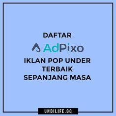 Daftar AdPixo Iklan Pop Under Terbaik Sepanjang Masa