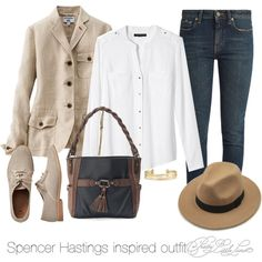 Spencer Hastings inspired outfit/PLL