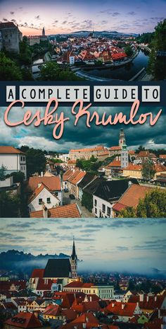Best things to do in Cesky Krumlov and your one stop guide to planning a perfect trip. #europetrip #czechrepublic