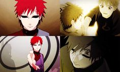 Gaara's my absolute favorite character in Naruto. <3