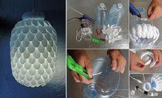 Desain Lampu Dari Botol Plastik