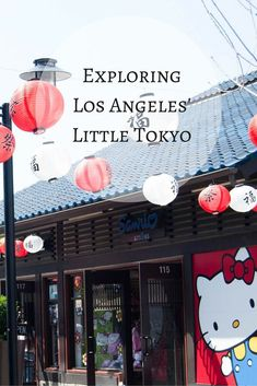Where to find the best ramen, sushi and mochi in Little Tokyo in LA!