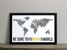 colorful world map poster - Google Search