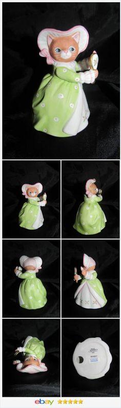 Kitty Cucumber Cinderella Vain Stepsister Ginger Schmid 1992 Figurine Cat