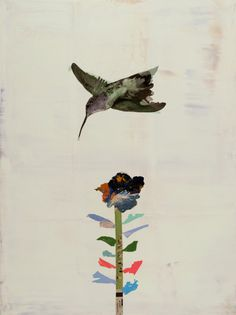Hummingbird, 2011, Holly Roberts