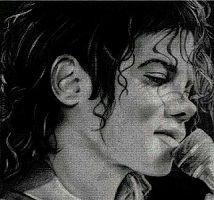 grafico gratis de punto de cruz para descargar en pdf, imprimir y bordar dibujo de Michael Jackson