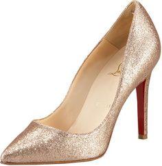 ShopStyle: Christian Louboutin Pigalle Glitter Pump $625