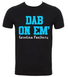 Carolina Panthers Dab On Em' T-Shirt