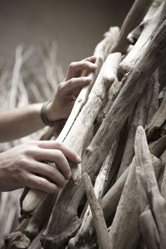 Bleu nature Driftwood, Handicraft, Neutral, Chinese, Places, Nature, Projects, Inspiration, Furniture