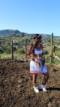 Zulu Traditional Attire, African Traditional Wear, Traditional Outfits, Sexy Outfits, Cute Outfits, Janus, African Jewelry, African Prints, Life Goals
