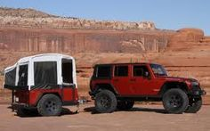 Jeep trailer/camper