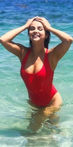 Selena Gomez's Sexiest Bikini & Swimsuit Pics Selena Gomez Bikini, Selena Gomez Fotos, Selena Gomez Pictures, Bikinis, Swimsuits, Swimwear, Swimsuit Pics, Celebrity Bikini, Marie Gomez