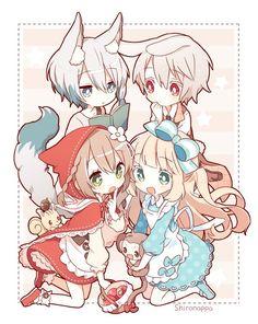 Cute Anime Chibi, Anime Girl Cute, Kawaii Chibi, Kawaii Anime Girl, Anime Art Girl, Anime Guys, Kawaii Drawings, Cute Drawings, Cute Anime Coupes