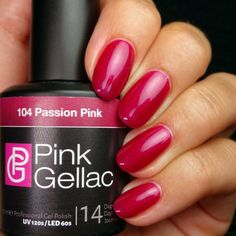 104 Passion Pink 15 ml - Rosa Passione - Smalto semipermanente
