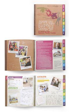 Youth Centre Annual Report Design