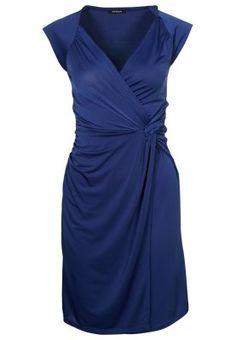 Jerseykleid - bleu cobalt
