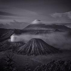 Mount Bromo: By Hengki Koentjoro, more artworks http://www.artlimited.net/10711 #Photography #Digital #Nature #Scenery #Countryside