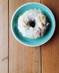 Gluten Free Donuts, Toasted Coconut, Chocolate Cake, Glaze, Oatmeal, Butter, Baking, Breakfast, Instagram