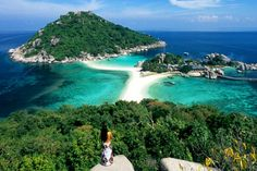 Koh Nang Yuan close to koh tao island, thailand, beautiful island and ultimate diving place