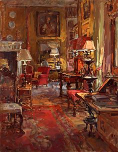 Susan Ryder, RP, NEAC, Artist and Painter - Interiors and Exteriors