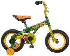 Diego Bicycle (12-Inch) by Nickelodeon. $79.99. The 12-Inch Diego bicycle has a single speed with both foot brakes for easy lerning that will grow with your child.