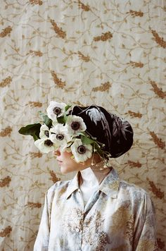 Photographer Parker Fitzgerald (on Tumblr) and floral designer Riley  Messina in the artistic collaboration 5d1ccd53a15d3