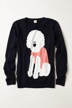 Unstandard Poodle Pullover