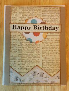 Cirque de Happy Birthday by Cindysnoopy on Etsy, $3.50