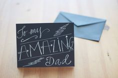 Some of the best gifts are handmade. This #Father'sDay, instead of buying cards that do not quite say it all, make one from the heart. Use your #writing and #thinkingskills to create a greeting card your father will never forget!