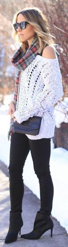 Fashionista: Nice White Sweater