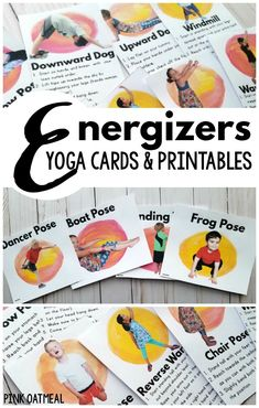 Kids yoga and brain breaks.  Perfect for yoga for the classroom or brain breaks for the classroom!  The fun kids yoga poses are easy for anyone!  They even have real kids in the poses! #kidsyoga #brainbreak