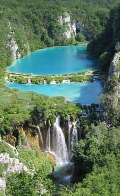 Plitvice National Park, Croatia God made such a beautiful world for us to see. Places Around The World, Travel Around The World, Around The Worlds, Dream Vacations, Vacation Spots, Places To Travel, Places To See, Beautiful World, Beautiful Places