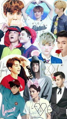 Exo Korea, Exo Facts, Exo 12, Exo Group, Exo Lockscreen, Pop Photos, Xiuchen, My Big Love, Baekhyun Chanyeol