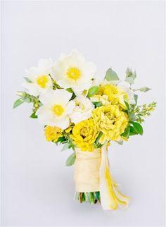 Vendor Spotlight Petal Flower Company Yellow wedding flowers