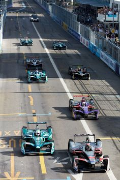 The Formula E Race for The New York Times: Elisabeth Real