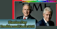 Election Day Freebies and Deals 2016 - http://couponsdowork.com/freebies-giveaways/election-day-freebies-and-deals-2016/