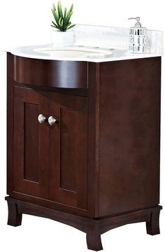 AMERICAN IMAGINATIONS American Imaginations Tiffany Rectangle Floor Mount 8-in. o.c. Center Faucet Vanity Set