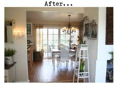 Cottage8:  Into dining room