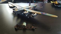 Airfix Avro Lancaster 617 Squadron Dambusters Lancaster, Scale Models, Airplanes, Spaceship, Wwii, Aircraft, Space Ship, Planes, Aviation