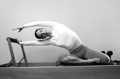 black and white pilates woman sport fitness portrait on reformer Pilates For Beginners, Beginner Pilates, Pilates Equipment, Pilates Reformer, Sports Women, Compliments, Fit Women, Sporty, Stock Photos