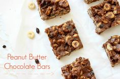 Peanut Butter Chocolate Bars!!!
