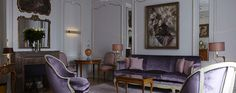 Enjoy your stay and discover all we have to offer at Hôtel Lancaster in Paris, France from The Leading Hotels of the World. Paris Champs Elysees, Lancaster Hotel, Lancaster Paris, Hotel Paris, Paris Hotels, Small Luxury Hotels, Luxury Homes, Palaces, Hotels