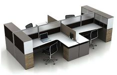 modern open office furniture - Google Search