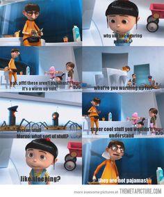 Agnes cute sarcasm..