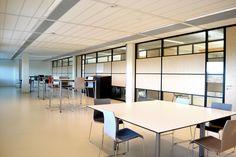 Avans Hogeschool, locatie Terrazea, 's-Hertogenbosch biedt plaats aan 2.000 studenten en medewerkers.