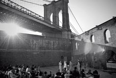 My ultimate dream wedding venue - the Tobacco Warehouse in Dumbo